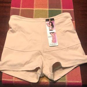 Shape wear shorts. Medium. Nude. NWT